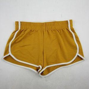 Mossimo Womens Mini Dolphin Shorts Size XS Yellow